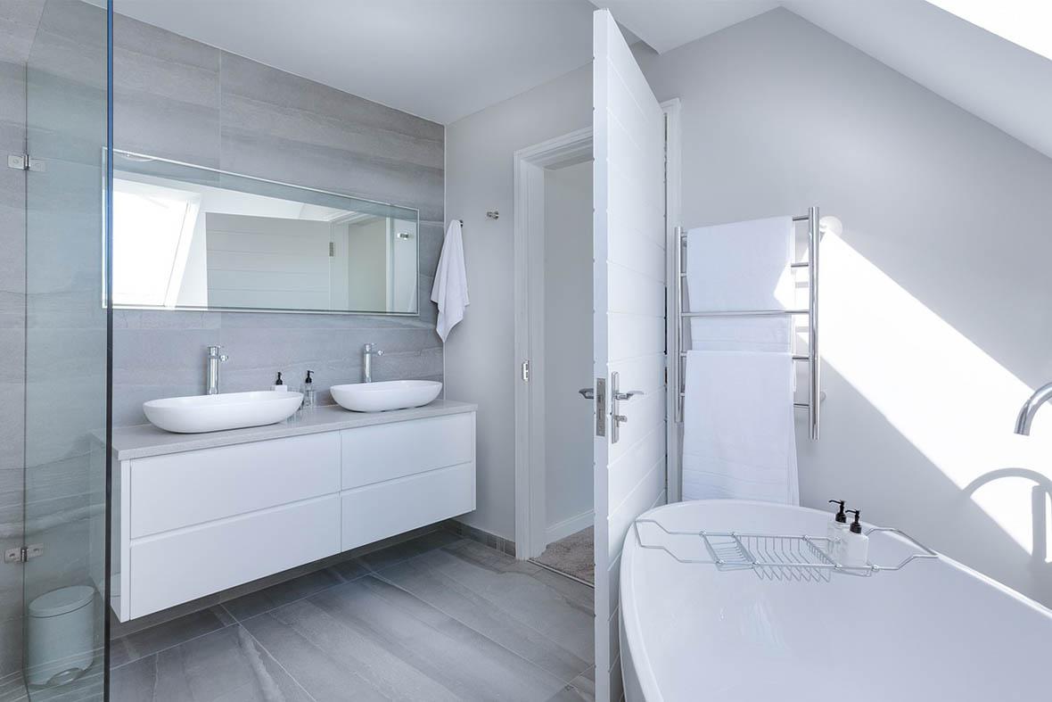 Installation dans la salle de bain