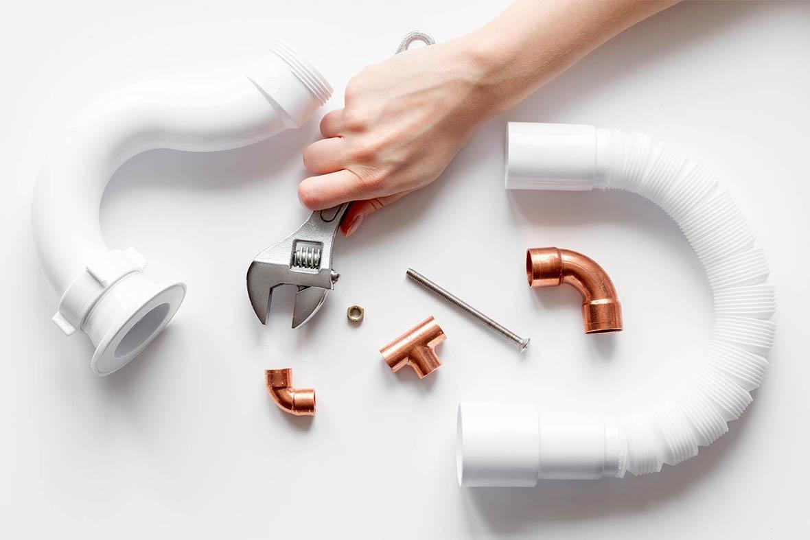 Installation d'un système de robinetterie