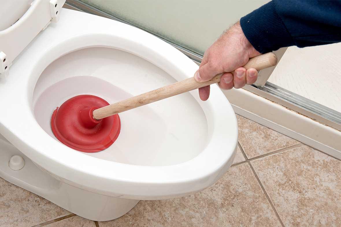 débouchage des toilettes