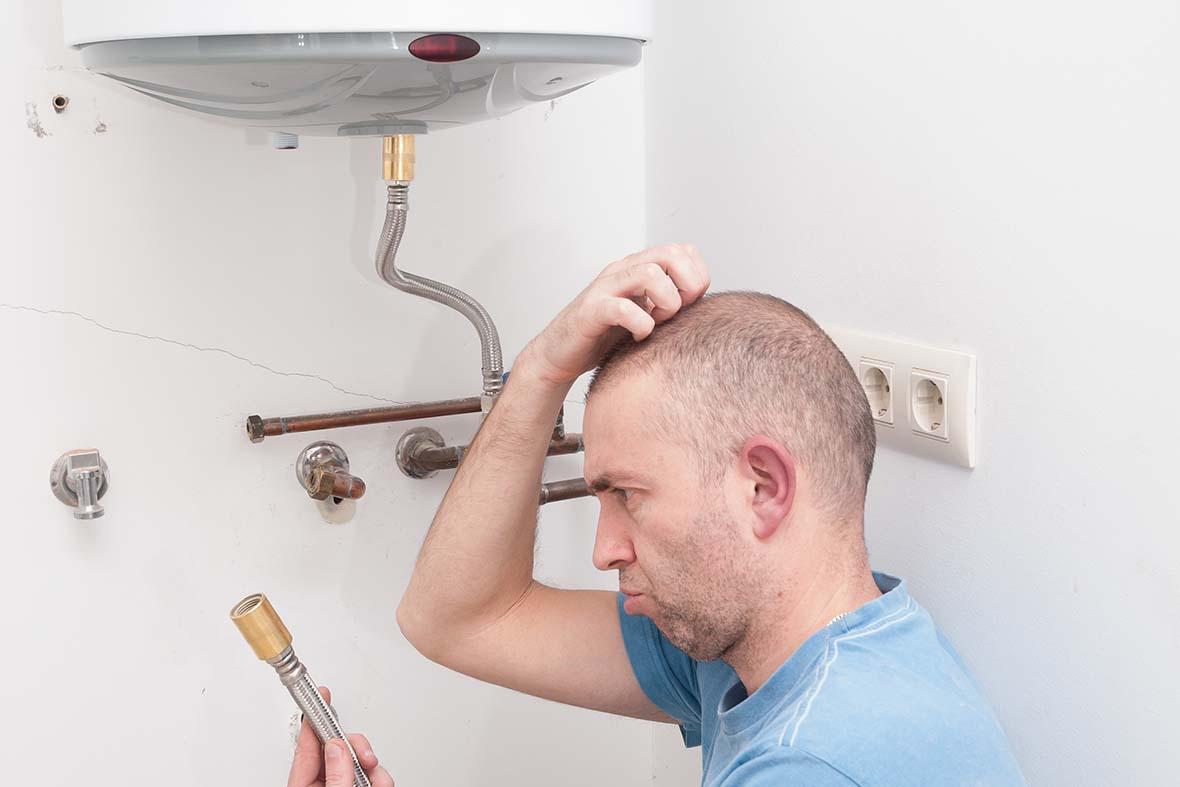 L'entretien et réparation de chauffe-eau